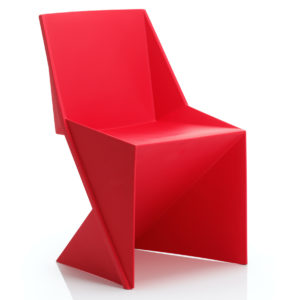 Freedom Visitor Stacking Chair Red Polypropylene