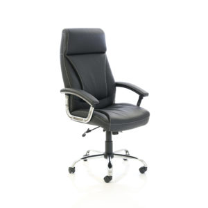 Penza Executive Black Leather Chair