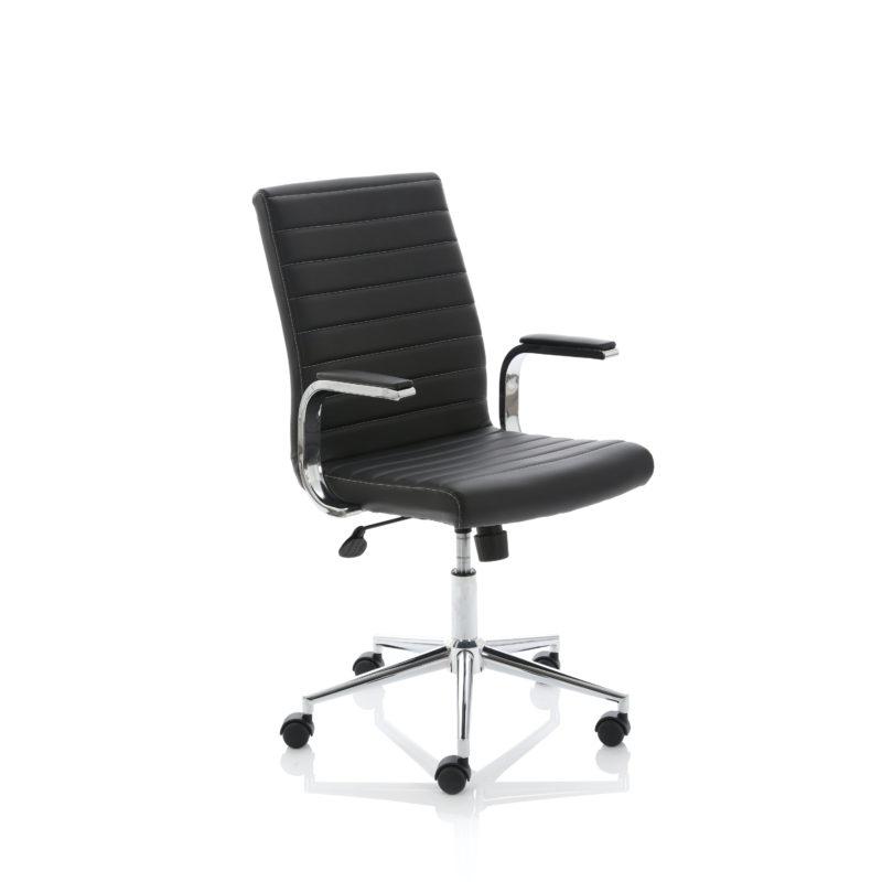 Ezra Executive Black Leather Chair