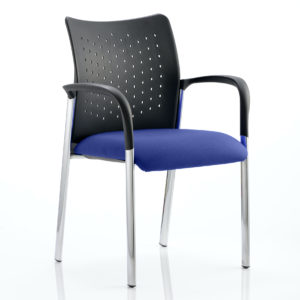 Academy Bespoke Colour Seat With Arms Stevia Blue