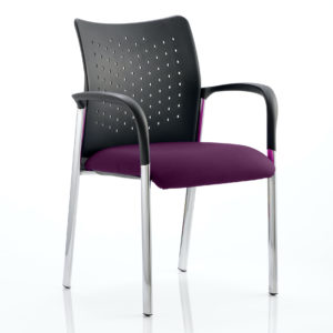 Academy Bespoke Colour Seat With Arms Tansy Purple