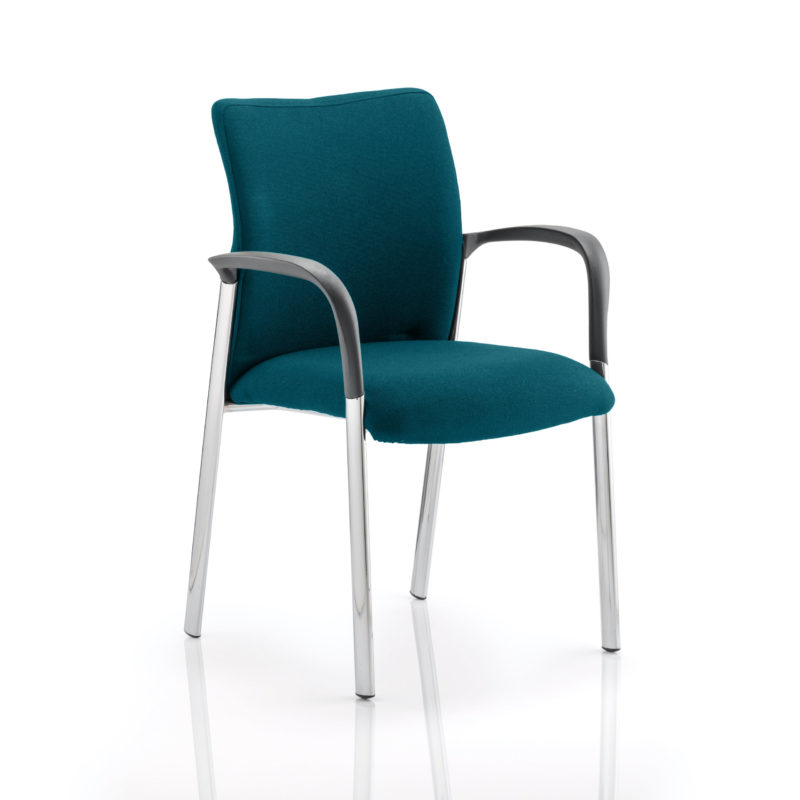 Academy Bespoke Colour Fabric Back And Bespoke Colour Seat With Arms Maringa Teal