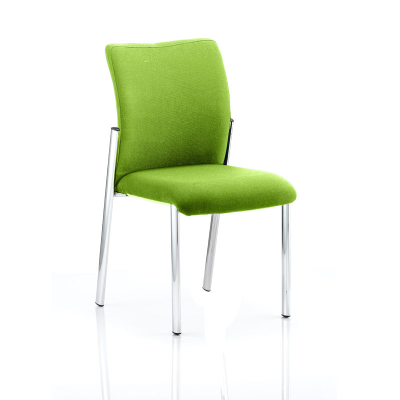 Academy Bespoke Colour Fabric Back With Bespoke Colour Seat Without Arms Myrhh Green