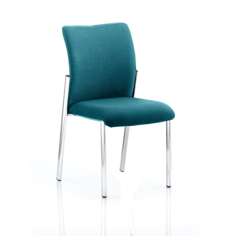 Academy Bespoke Colour Fabric Back With Bespoke Colour Seat Without Arms Maringa Teal