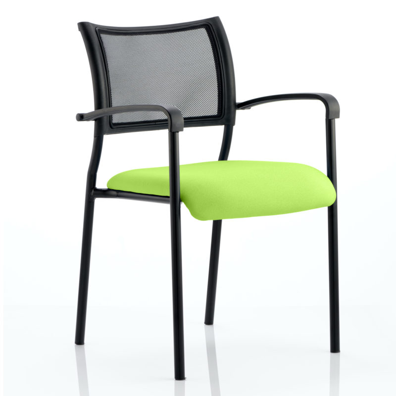 Brunswick Bespoke Colour Seat Black Frame Myrhh Green