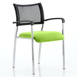 Brunswick Bespoke Colour Seat Chrome Frame Myrhh Green