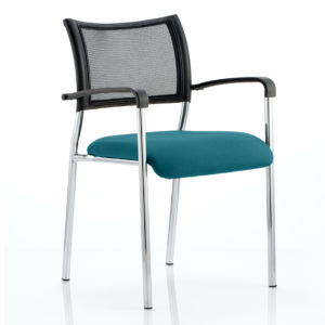 Brunswick Bespoke Colour Seat Chrome Frame Maringa Teal