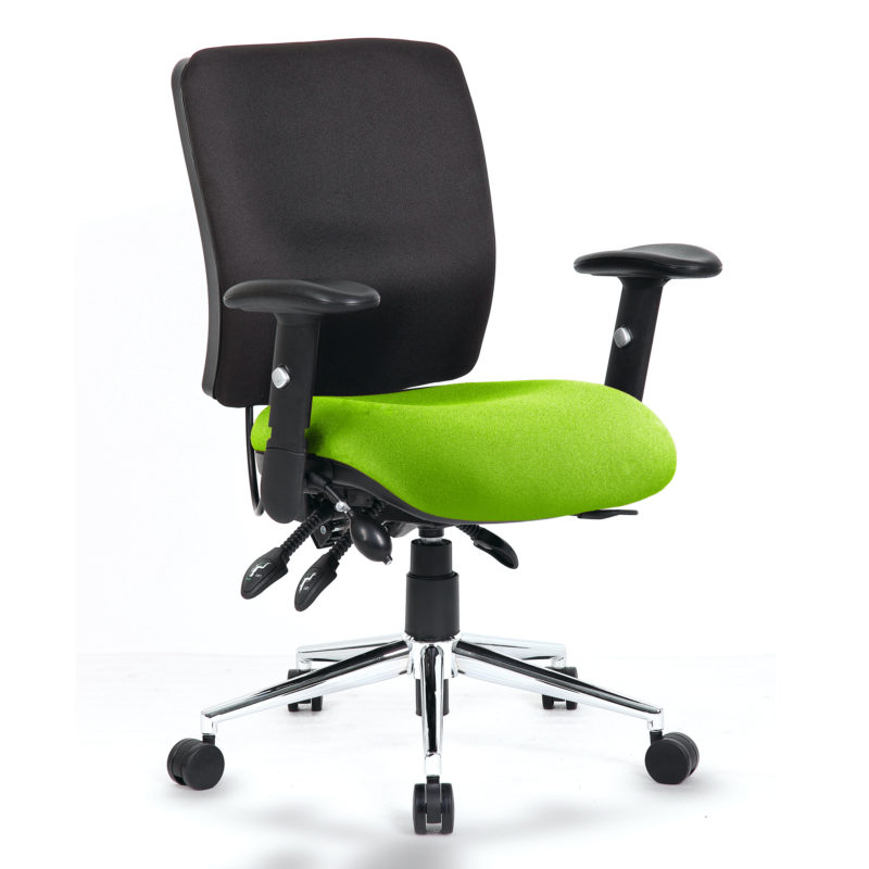 Chiro Medium Back Bespoke Colour Seat Myrhh Green