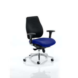 Chiro Plus Bespoke Colour Seat Stevia Blue