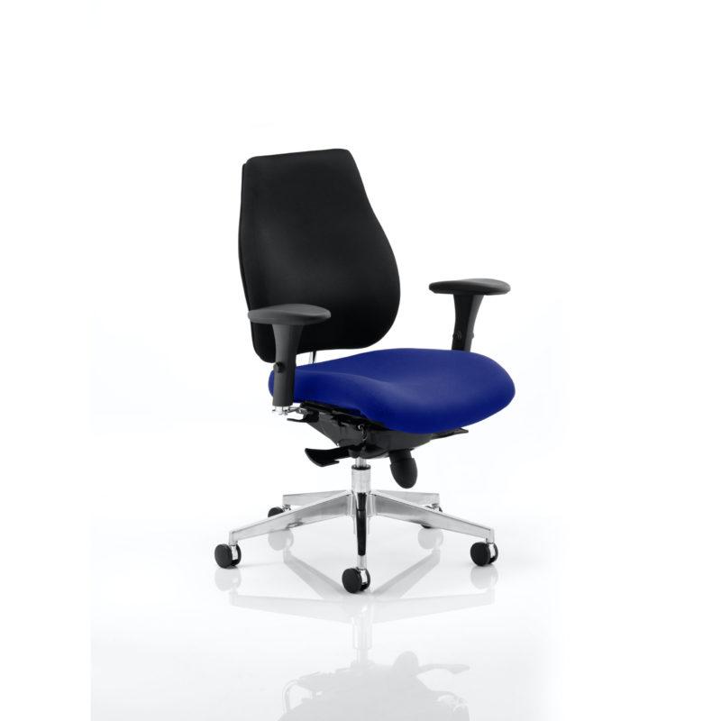 Chiro Plus Bespoke Colour Seat Stevia Blue