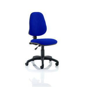Eclipse I Lever Task Operator Chair Bespoke Colour Stevia Blue