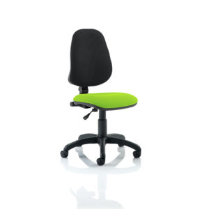 Eclipse I Lever Task Operator Chair Bespoke Colour Seat Myrhh Green