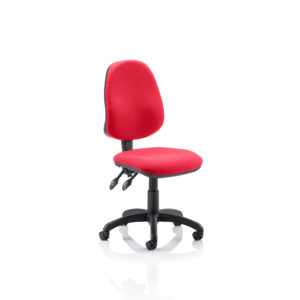 Eclipse II Lever Task Operator Chair Bespoke Colour Bergamot Cherry