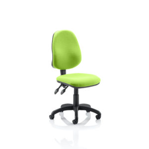 Eclipse II Lever Task Operator Chair Bespoke Colour Myrhh Green