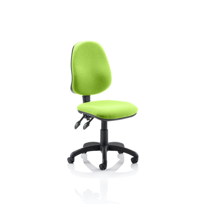 Eclipse II Lever Task Operator Chair Bespoke Colour Myrhh Green