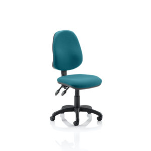 Eclipse II Lever Task Operator Chair Bespoke Colour Maringa Teal