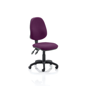 Eclipse II Lever Task Operator Chair Bespoke Colour Tansy Purple