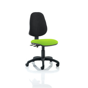 Eclipse II Lever Task Operator Chair Bespoke Colour Seat Myrhh Green
