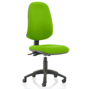 Eclipse XL Lever Task Operator Chair Bespoke Colour Myrhh Green