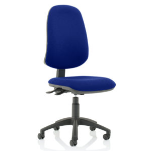 Eclipse XL Lever Task Operator Chair Bespoke Colour Stevia Blue