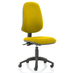 Eclipse XL Lever Task Operator Chair Bespoke Colour Senna Yellow