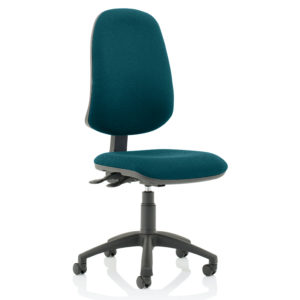 Eclipse XL Lever Task Operator Chair Bespoke Colour Maringa Teal