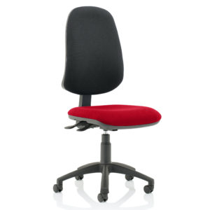 Eclipse XL Lever Task Operator Chair Bespoke Colour Seat Bergamot Cherry