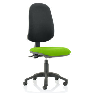 Eclipse XL Lever Task Operator Chair Bespoke Colour Seat Myrhh Green