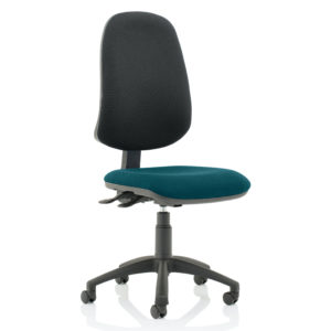 Eclipse XL Lever Task Operator Chair Bespoke Colour Seat Maringa Teal