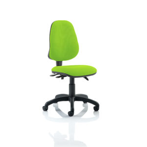 Eclipse III Lever Task Operator Chair Bespoke Colour Myrhh Green