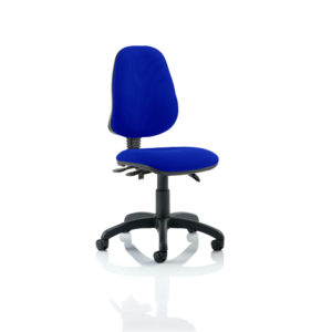 Eclipse III Lever Task Operator Chair Bespoke Colour Stevia Blue