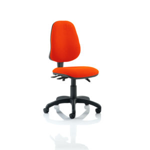 Eclipse III Lever Task Operator Chair Bespoke Colour Tabasco Red