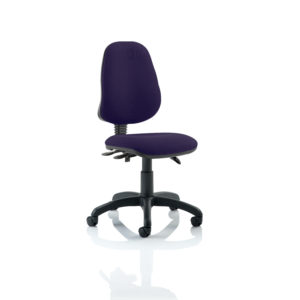 Eclipse III Lever Task Operator Chair Bespoke Colour Tansy Purple