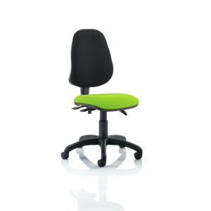 Eclipse III Lever Task Operator Chair Bespoke Colour Seat Myrhh Green