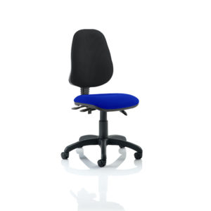 Eclipse III Lever Task Operator Chair Bespoke Colour Seat Stevia Blue
