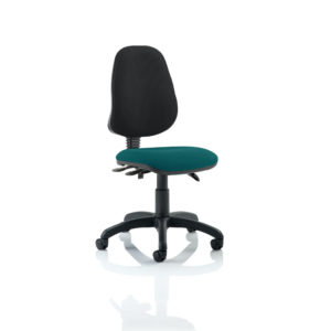 Eclipse III Lever Task Operator Chair Bespoke Colour Seat Maringa Teal