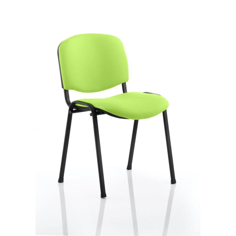 ISO Black Frame Bespoke Colour Fabric - (Min Order Qty X 4) Myrhh Green