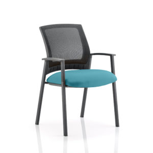Metro Visitor Chair Bespoke Colour Seat Maringa Teal