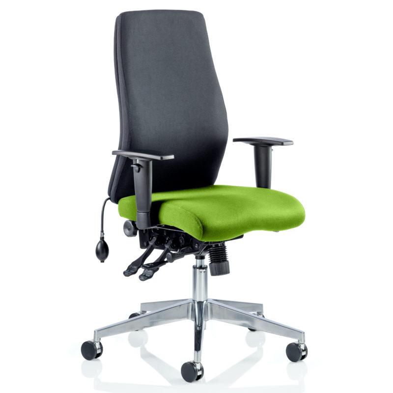 Onyx Bespoke Colour Seat Without Headrest Myrhh Green