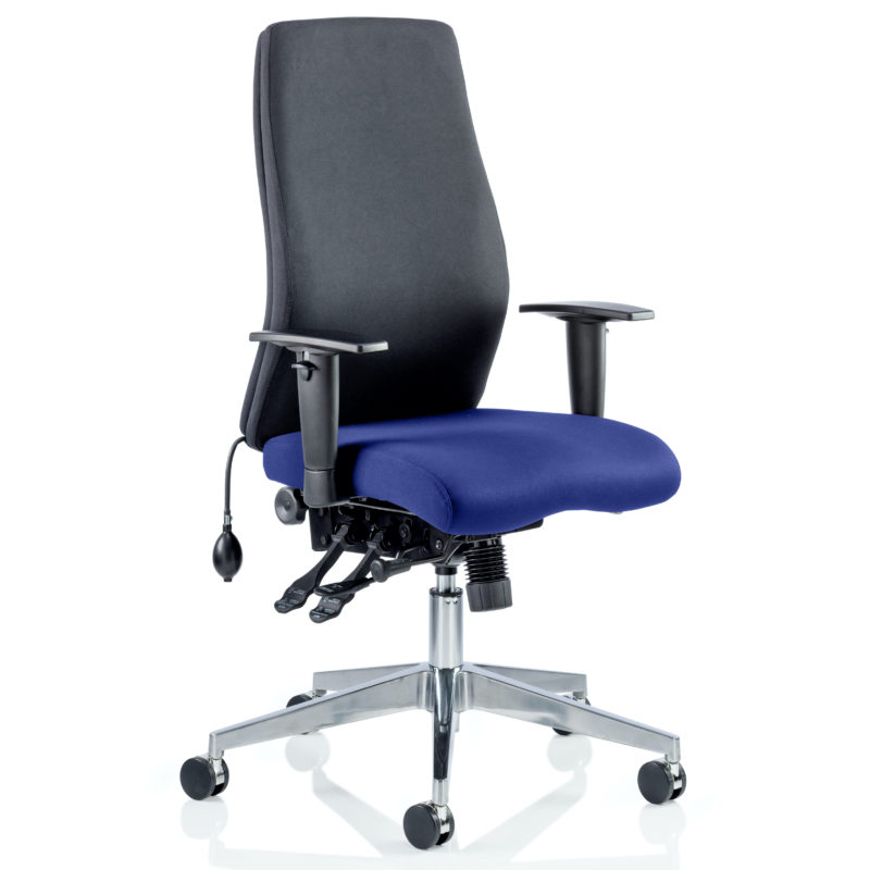 Onyx Bespoke Colour Seat Without Headrest Stevia Blue