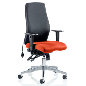 Onyx Bespoke Colour Seat Without Headrest Tabasco Red