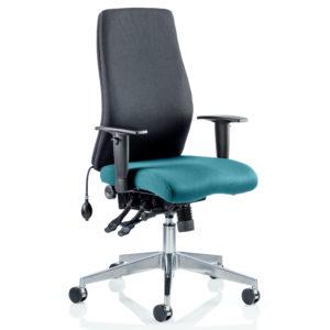 Onyx Bespoke Colour Seat Without Headrest Maringa Teal