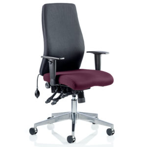 Onyx Bespoke Colour Seat Without Headrest Tansy Purple
