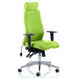 Onyx Bespoke Colour With Headrest Myrhh Green