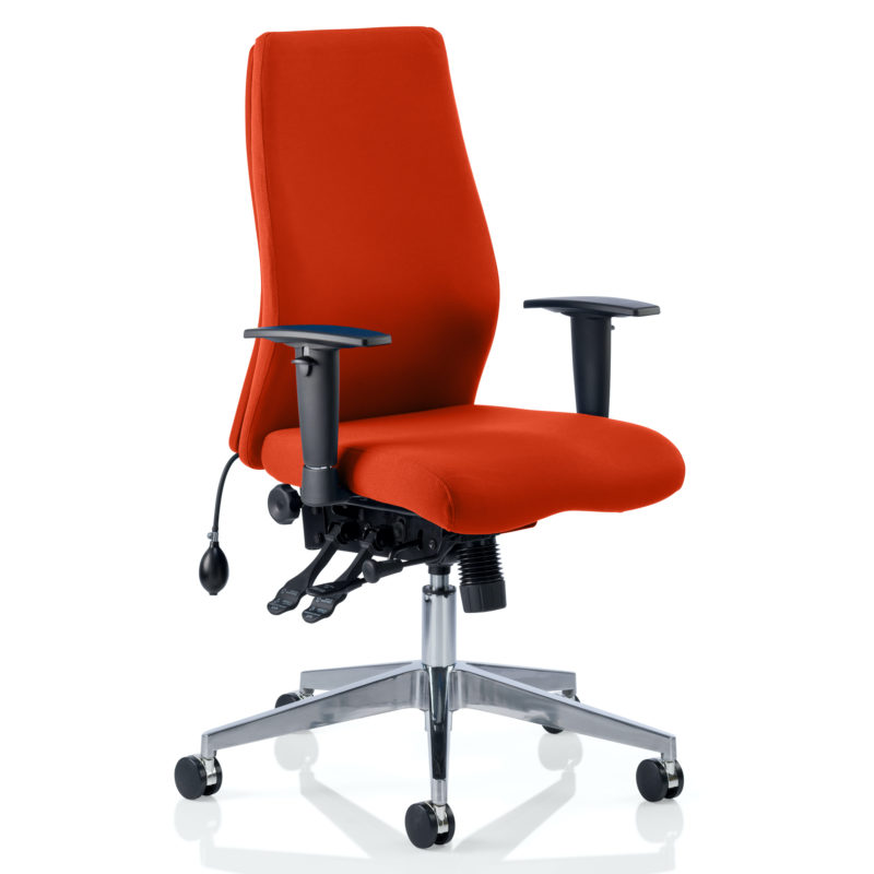 Onyx Bespoke Colour Without Headrest Tabasco Red