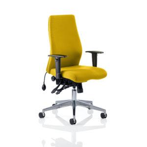 Onyx Bespoke Colour Without Headrest Senna Yellow