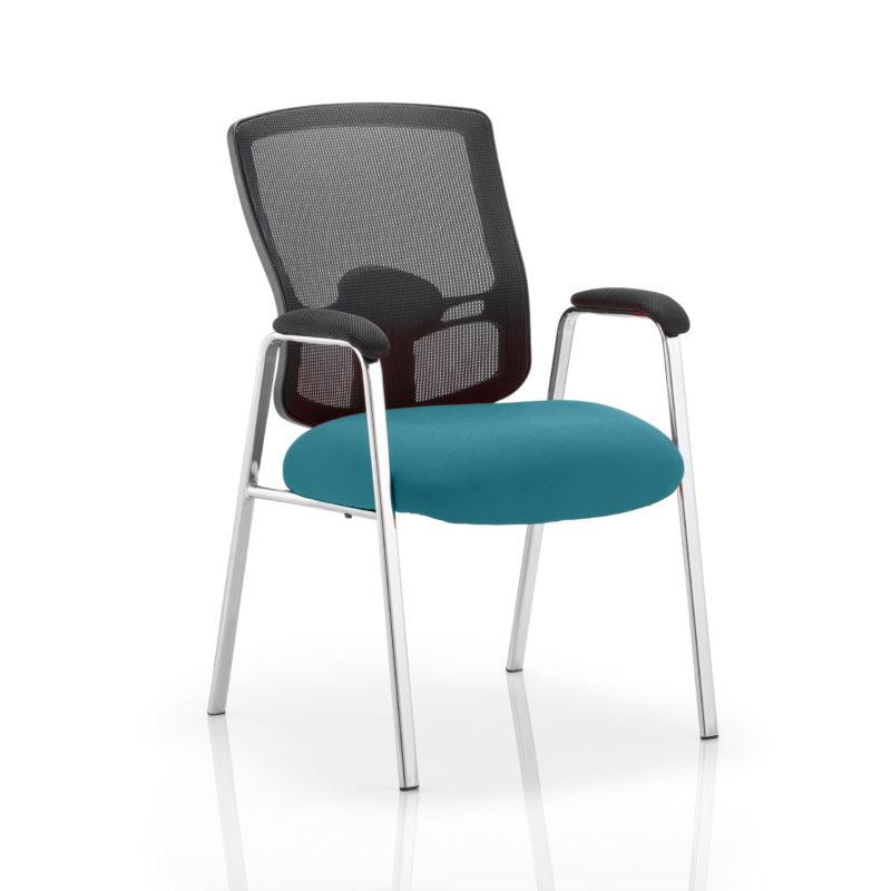 Portland Visitor (Straight Leg) Bespoke Colour Seat Maringa Teal