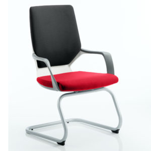 Xenon Visitor White Shell Bespoke Colour Seat Bergamot Cherry
