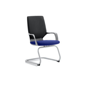Xenon Visitor Black Shell Bespoke Colour Seat Stevia Blue