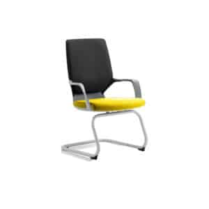 Xenon Visitor Black Shell Bespoke Colour Seat Senna Yellow